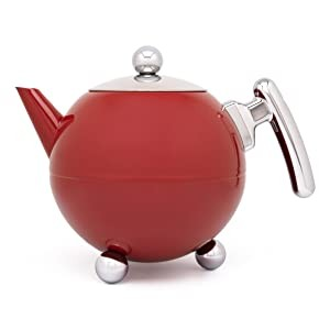 Teekanne Bella Ronde Carmine Red