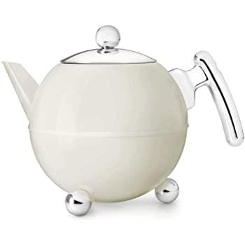 Teekanne Bella Ronde Weiß